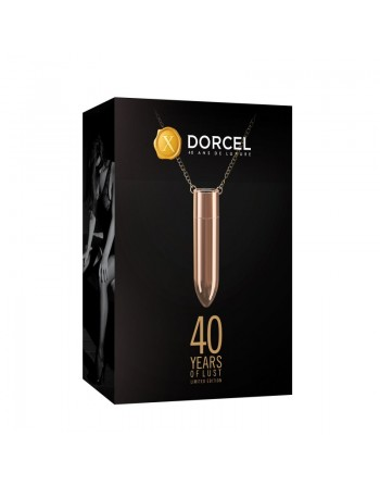 Vibromasseur Dorcel Discreet Pleasure - Or